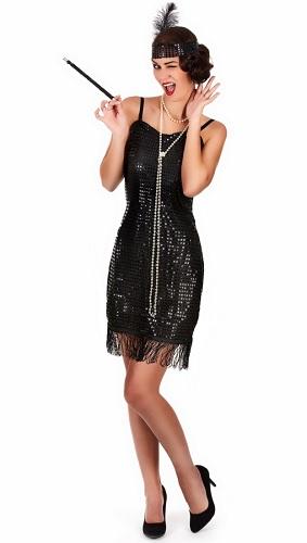 20er Jahre Charleston Kleid Kostüm Damen