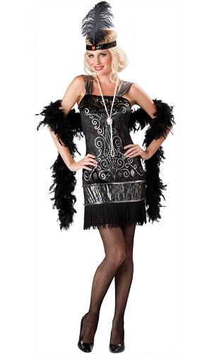 20er Jahre Charleston Kostüm Kleid